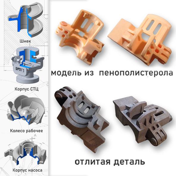По сложному фасону: как модели из пенопласта работают на промышленность?  1