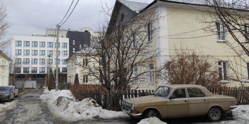 Двухэтажный квартал