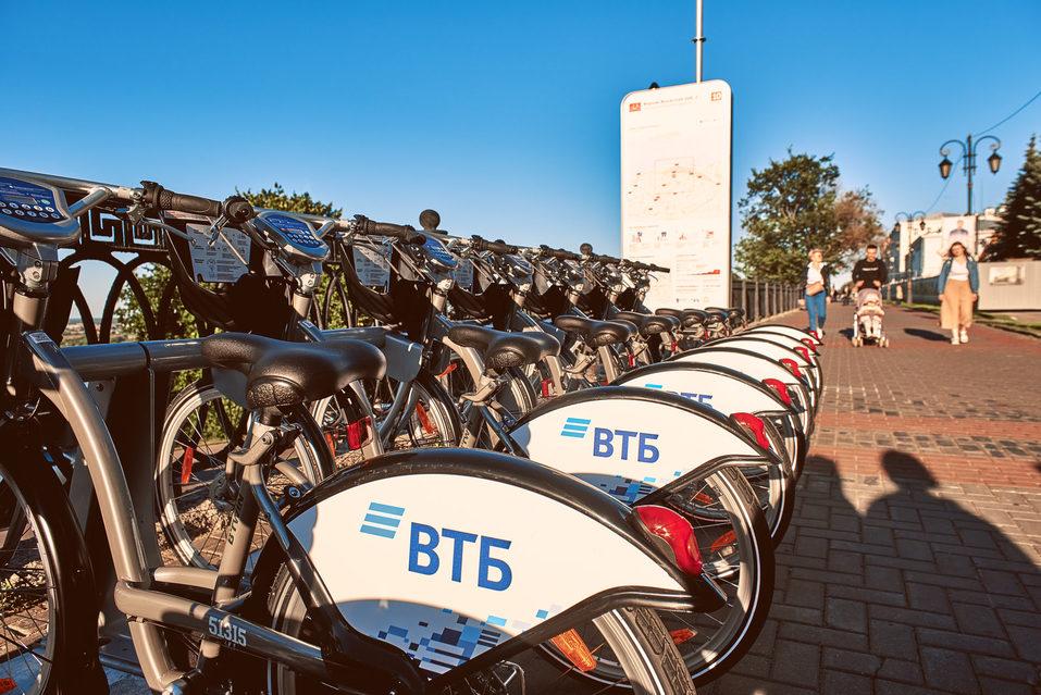 ВТБ: в Нижнем Новгороде открылся новый сезон велопроката 1