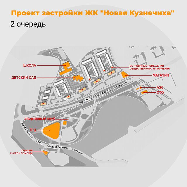 Начались продажи квартир во второй очереди ЖК «Новая Кузнечиха» 2