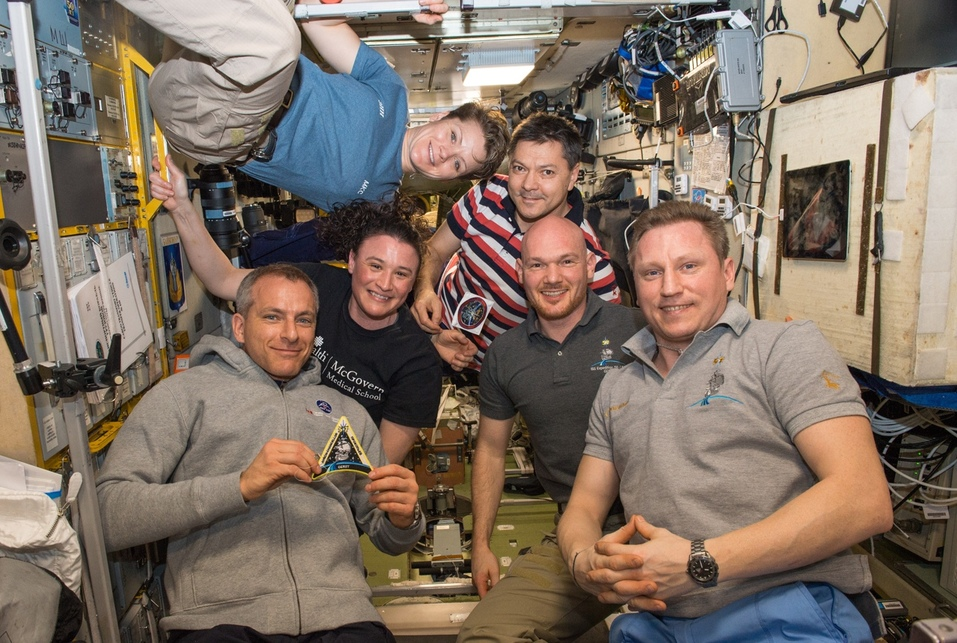 Международный экипаж МКС