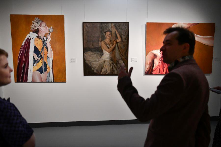 Картины Дианы Мачулиной и Гаева