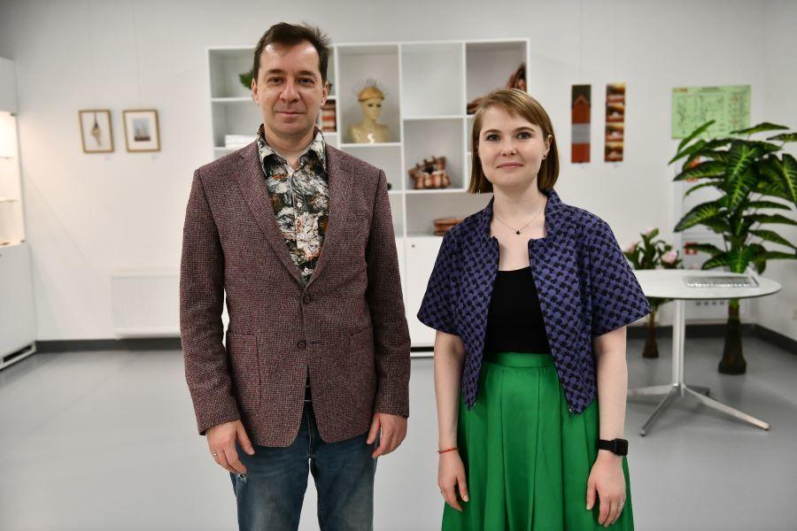 Сергей Попов и Дарья Костина