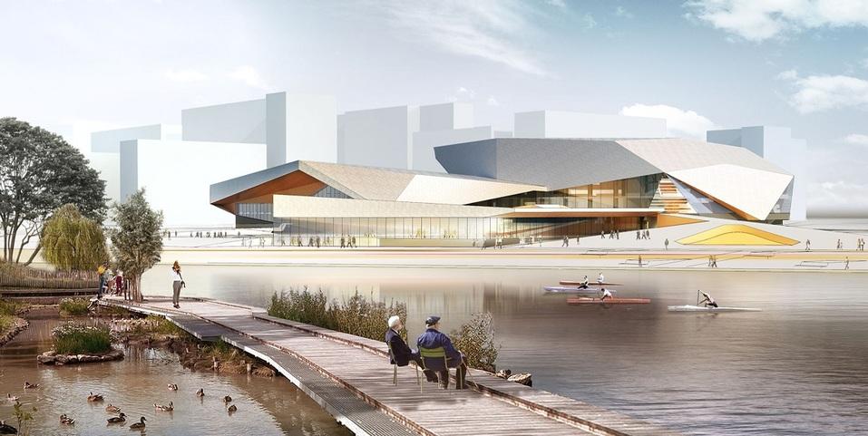 РМК начнет строить «спортивный город» на северо-западе Челябинска 1