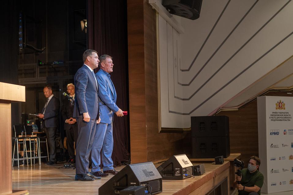 Евгений Куйвашев и Игорь Заводовский