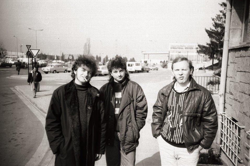 Агата Кристи времен Свердловкого рок-клуба. Фото:  @Archiv.Sverdlovsk.Rock Facebook