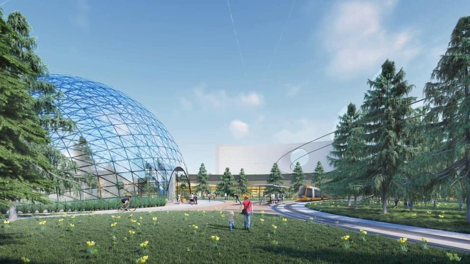 Красноярск: Предмостную площадь преобразуют в Итальянскую   1