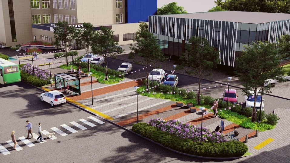 На улице Сони Кривой планируют построить бизнес-квартал. Появился проект благоустройства  1