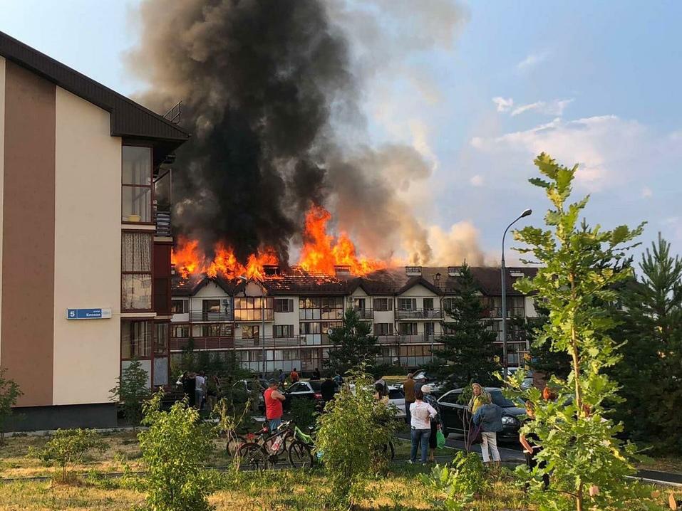 Пожар в «Залесье»: МЧС ищет виноватых, Сосновская администрация подсчитывает ущерб 1