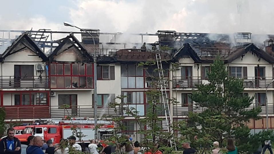Пожар в «Залесье»: МЧС ищет виноватых, Сосновская администрация подсчитывает ущерб 2