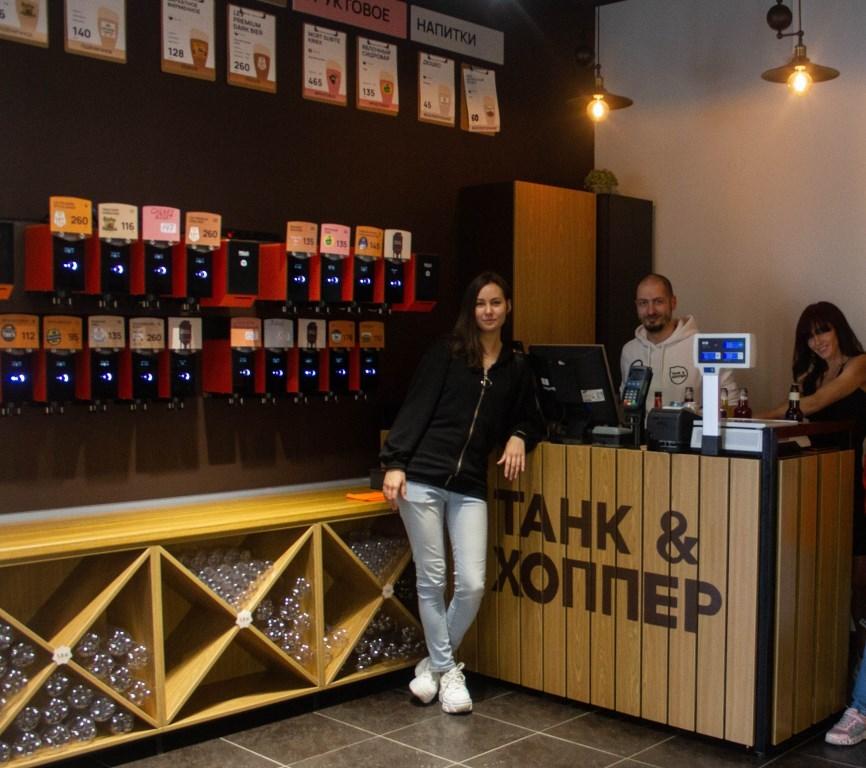 Первый пивной магазин с «умными кранами» открылся в Новосибирске  1