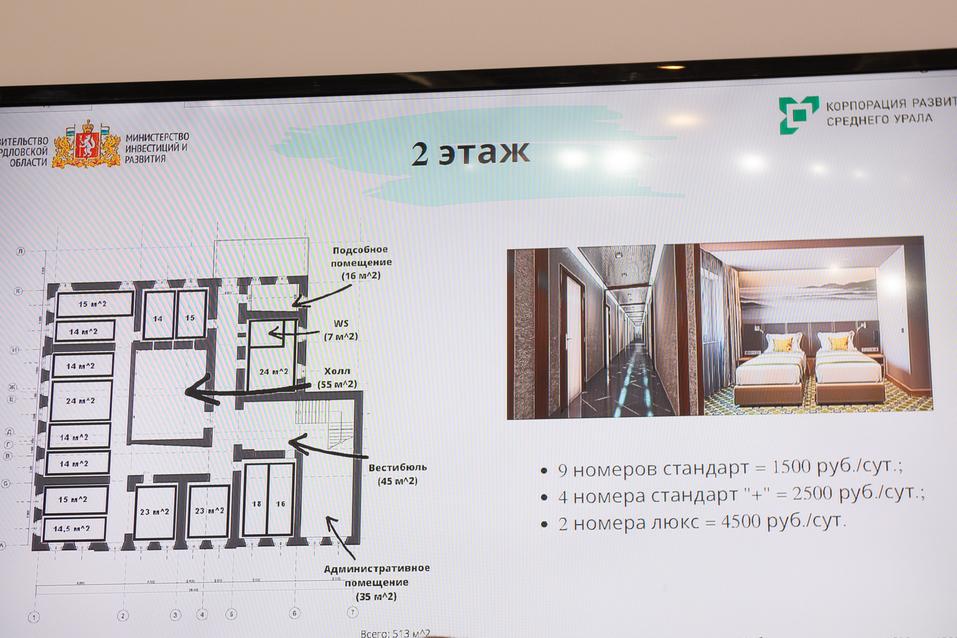 Проект редевелопмента исторического двухэтажного здания в Ирбите