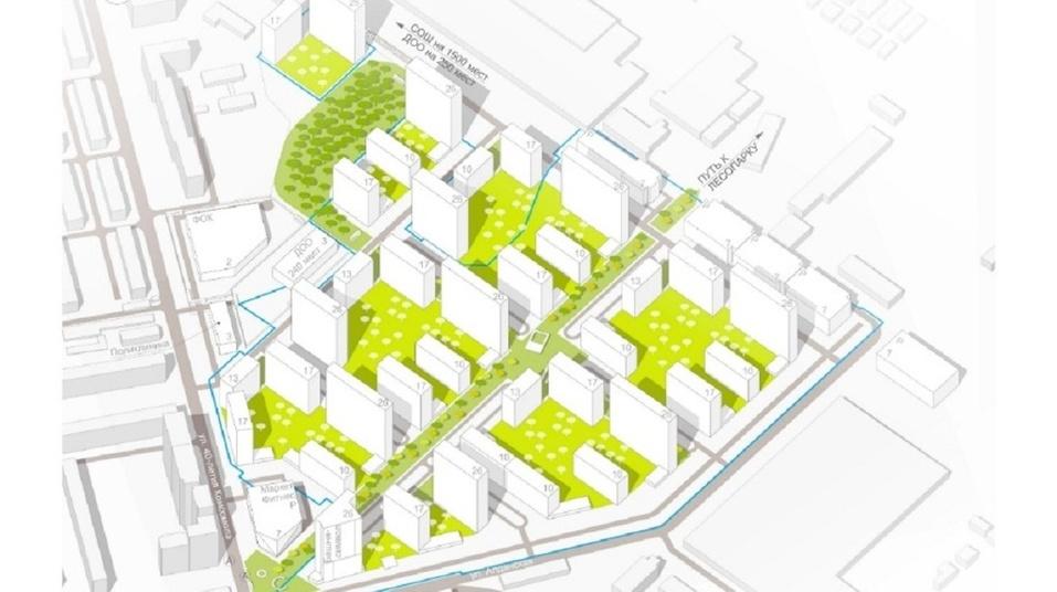 «Группа ЛСР» построит жилой квартал на месте бывших цехов завода ЖБИ. Подробности проекта 1