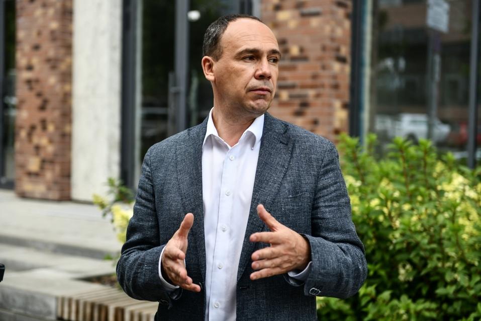 Михаил Ерофеев рассказывает об истории проекта на месте Центрального рынка