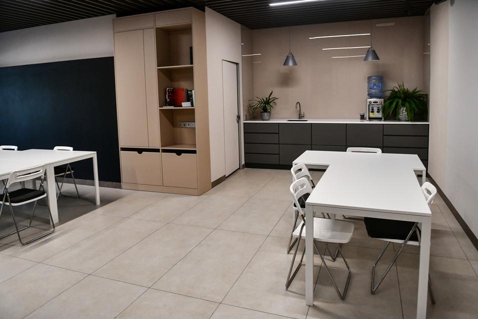 Коммьюнити-центр оборудован всем необходимым