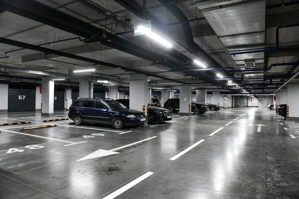 Закрытые боксы в паркинге пользуются популярностью у жильцов