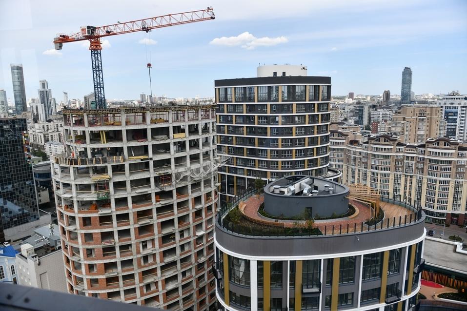 Строительство последних домов Forum City не особенно мешает жильцам
