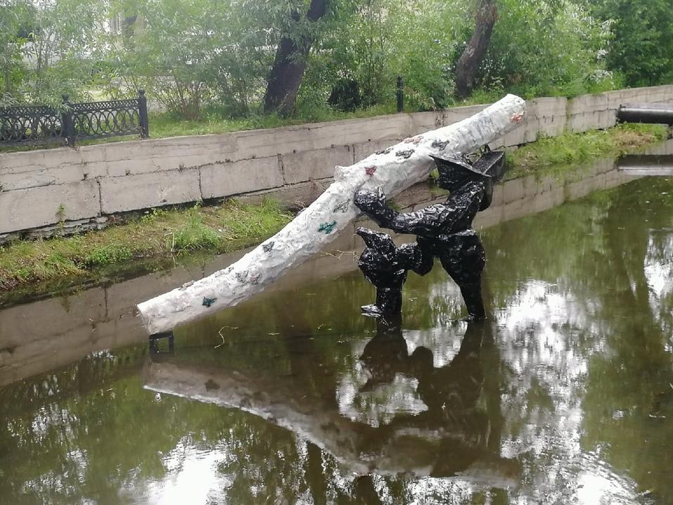 Крупнейший арт-объект Уральской индустриальной биеннале появился в Челябинской области 6