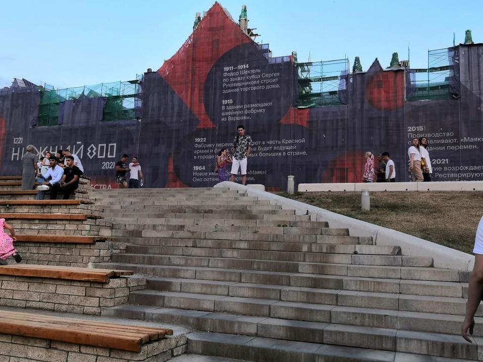 Месяц до 800. Нижний Новгород  готовится к юбилею за заборами. 17