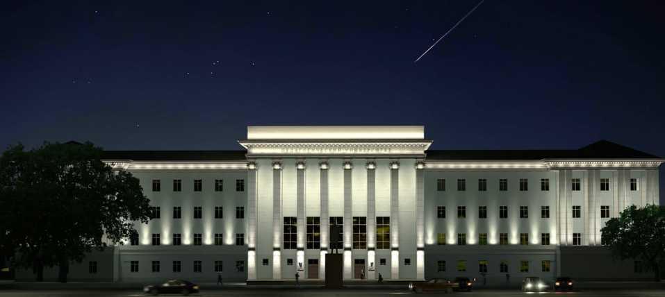 Новый фасад, подсветка и технопарк – какие изменения ждут ЮУрГГПУ в будущем учебном году 2