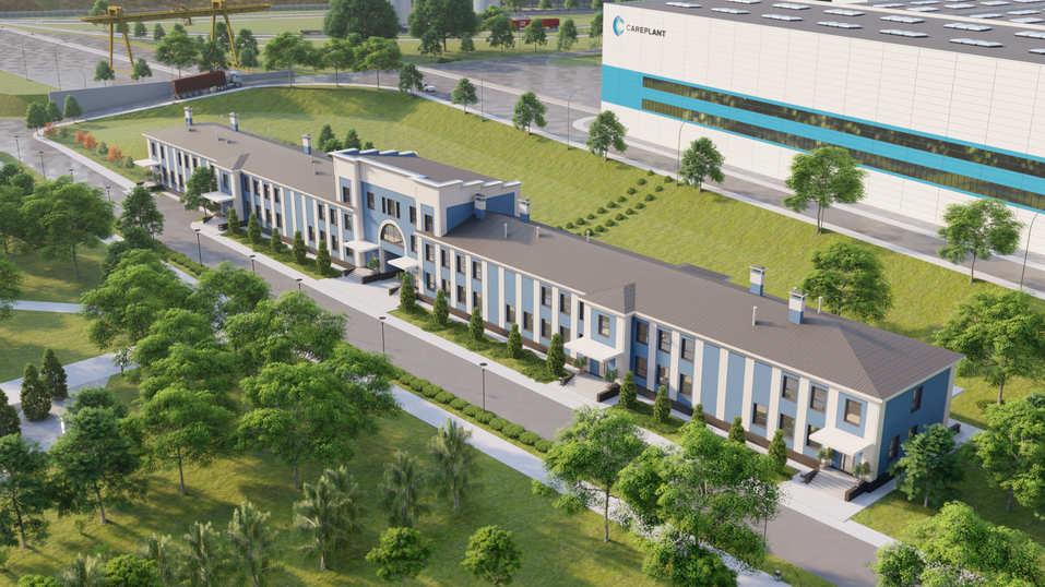 Стало известно, как будет выглядеть новый завод на месте «Уфалейникеля» 1