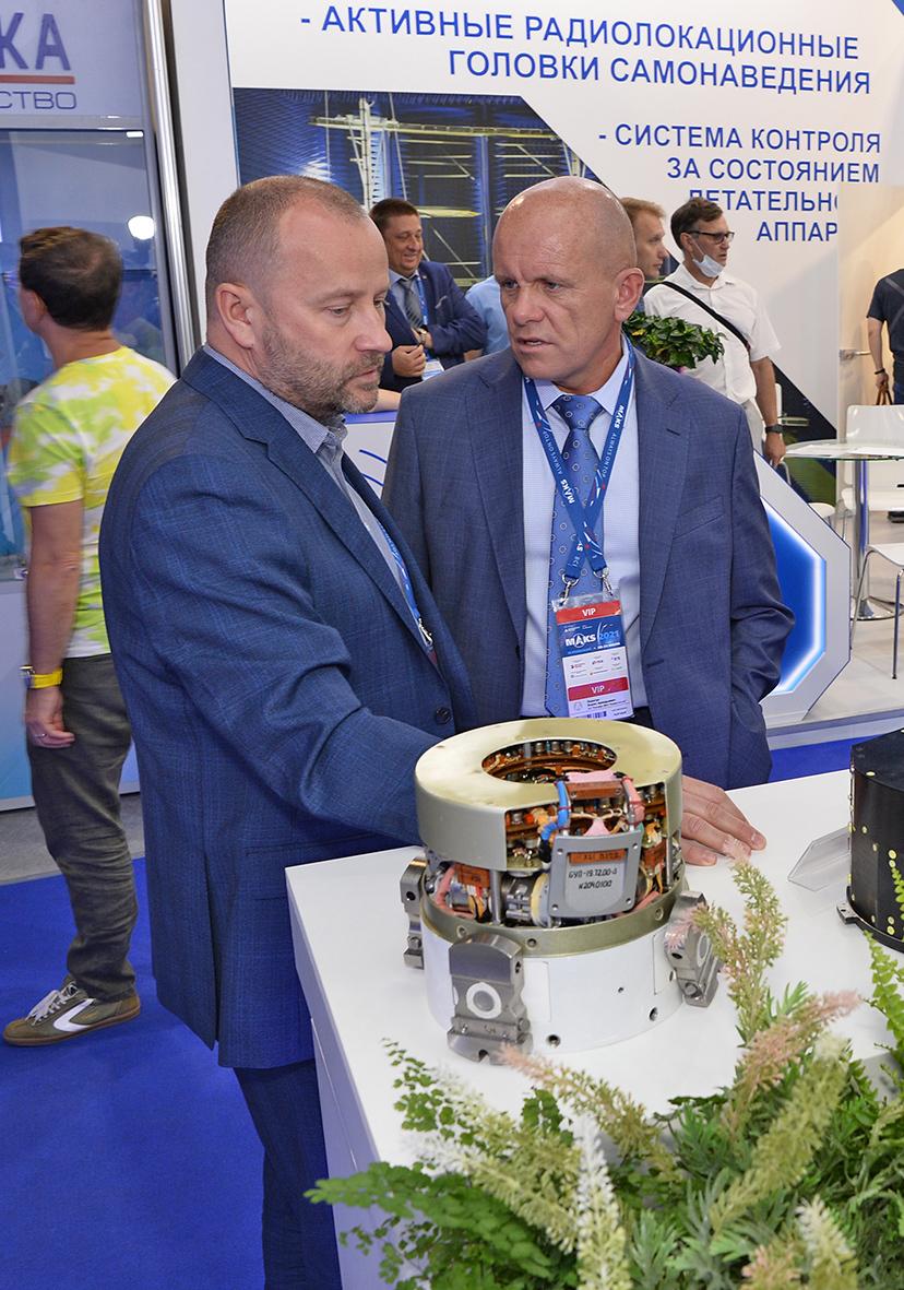 Арзамасский приборостроительный завод им. П.И. Пландина участвует в авиасалоне МАКС 5