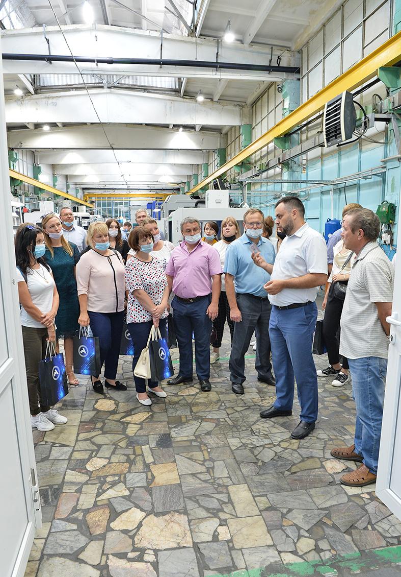 Бережливость на практике. «Команда 52» посетила Арзамасский приборостроительный завод  1