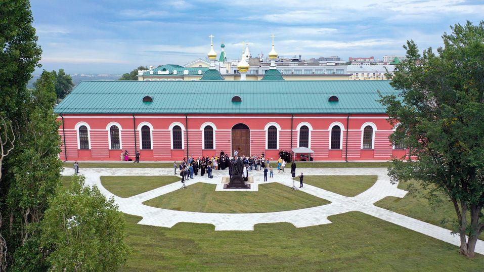 В Нижегородском Кремле после масштабной реконструкции открыто здание манежа  2