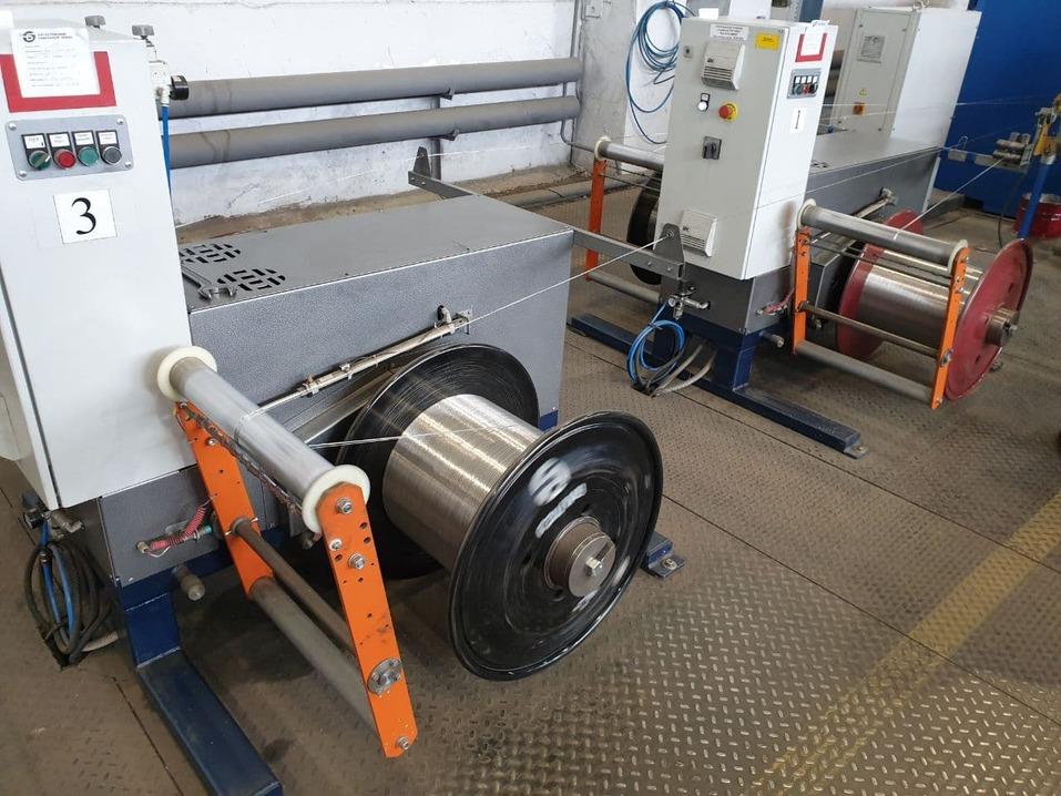 В первом цехе БКЗ изготавливают полуфабиркат для кабеля