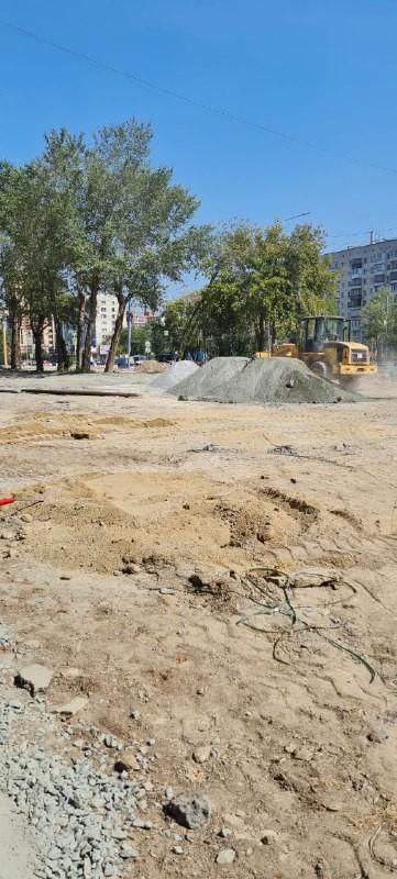 В центре Челябинска к концу сентября появится новый сквер 3