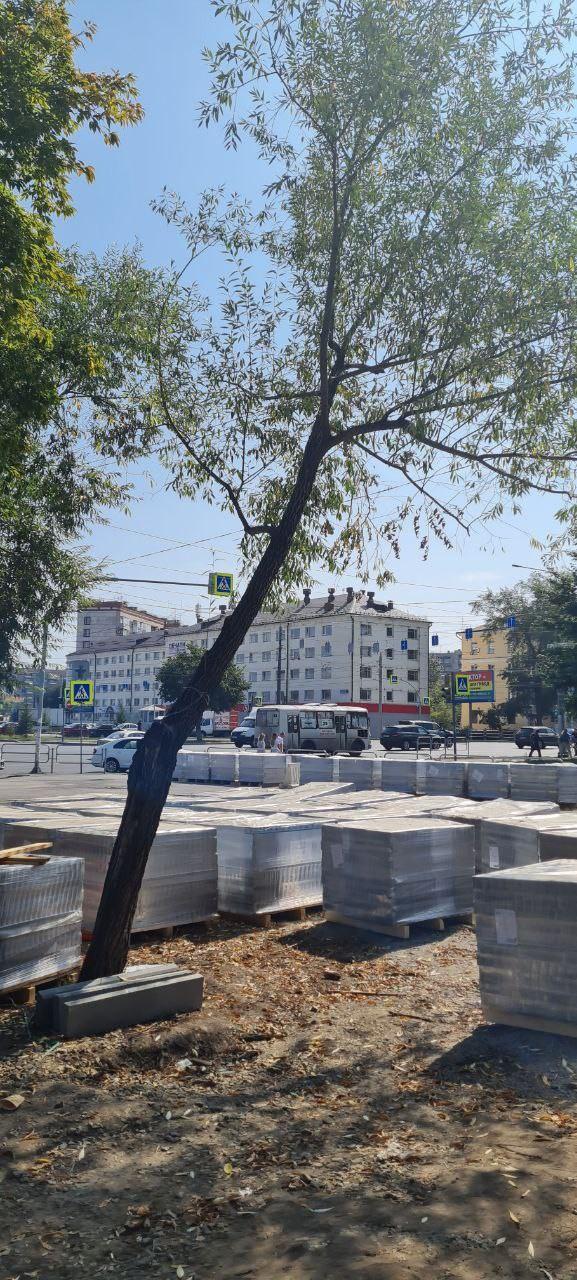 В центре Челябинска к концу сентября появится новый сквер 4