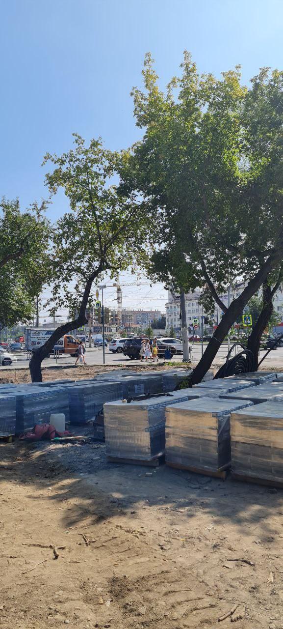 В центре Челябинска к концу сентября появится новый сквер 5