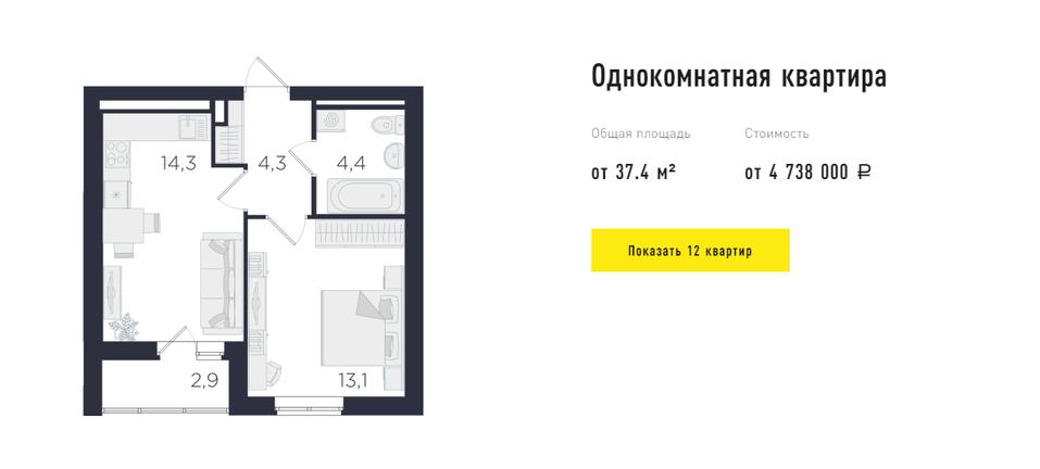 Ультрафункциональные метры: квартиры в Екатеринбурге для самых требовательных покупателей 2