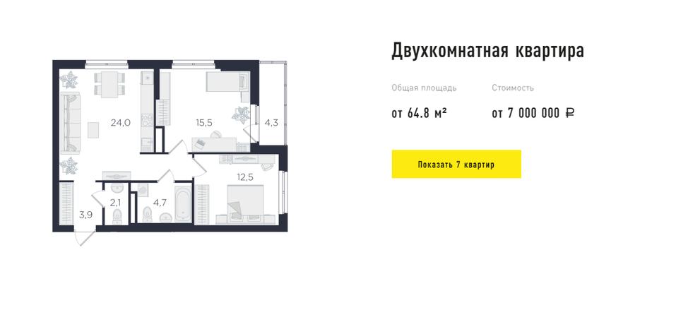 Ультрафункциональные метры: квартиры в Екатеринбурге для самых требовательных покупателей 3