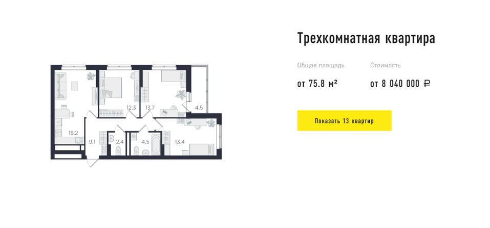 Ультрафункциональные метры: квартиры в Екатеринбурге для самых требовательных покупателей 4