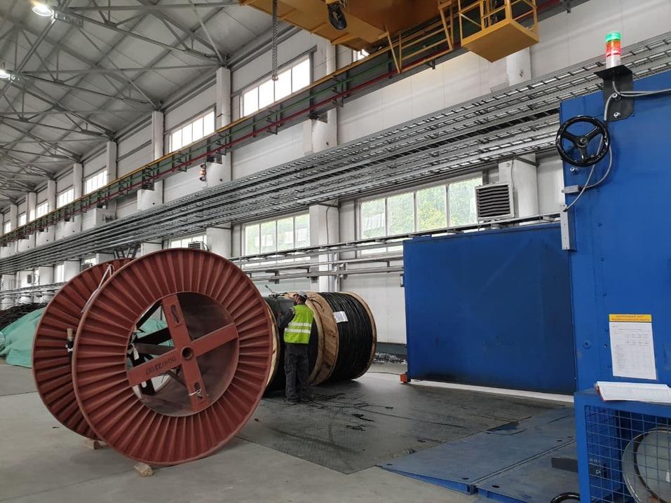 Производство кабеля
