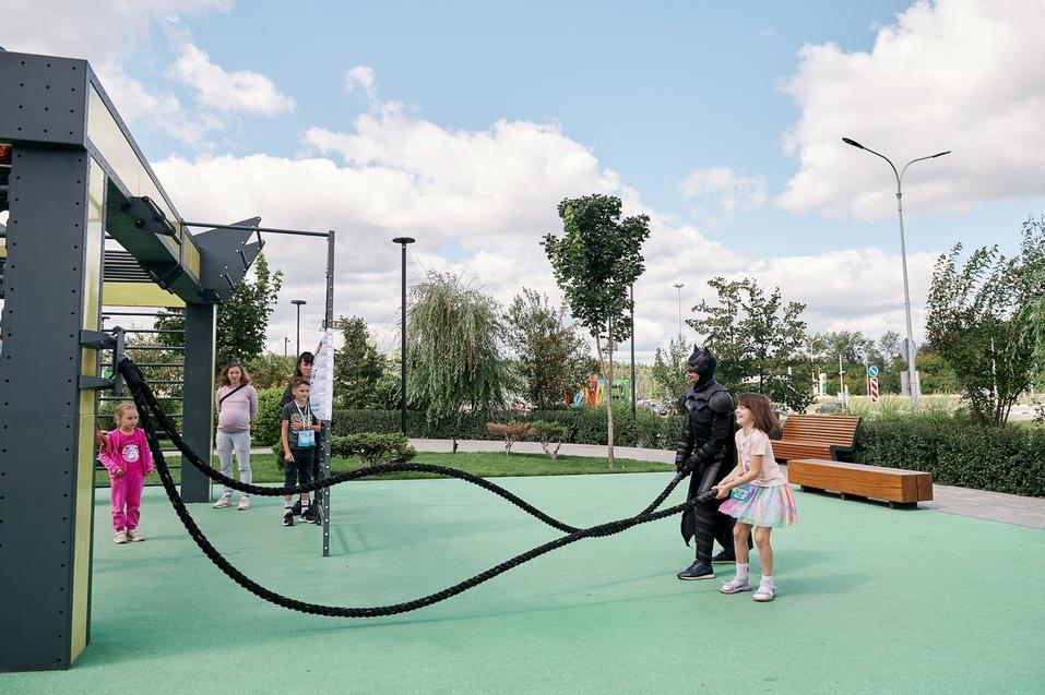 Занятия для детей на свежем воздухе