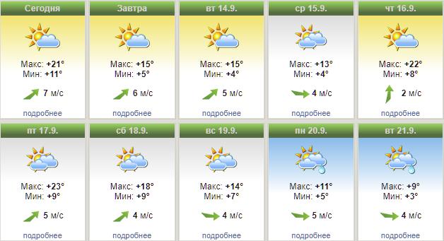 Красноярск ожидает холодная и дождливая неделя   1