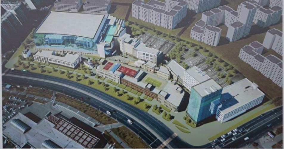 «Фундамент — в этом году, здание — в следующем»: когда в Челябинске появится аквапарк?  1