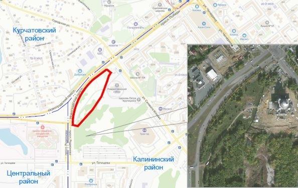 Мэрия выделила 95 млн руб. на благоустройство возле челябинского кафедрального собора 1