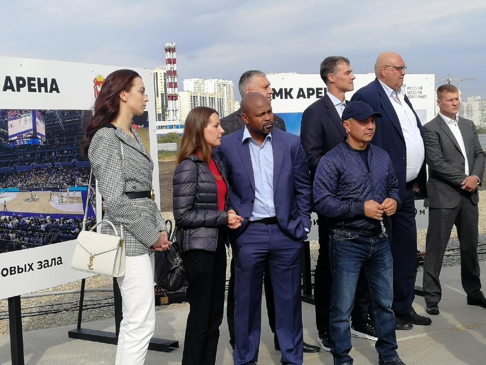 Алексей Текслер и Игорь Алтушкин основали в Челябинске «РМК Арену» 3