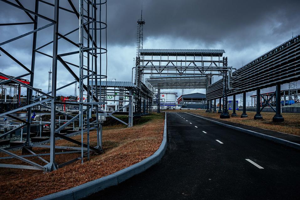 «Газпром нефть» запустила крупнейший топливный терминал на Урале 4