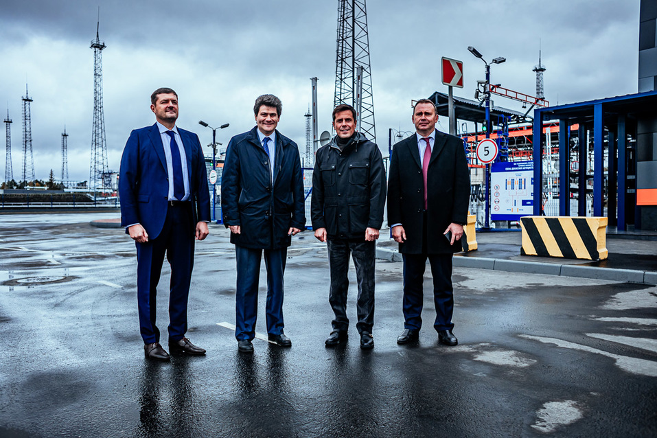 «Газпром нефть» запустила крупнейший топливный терминал на Урале 9