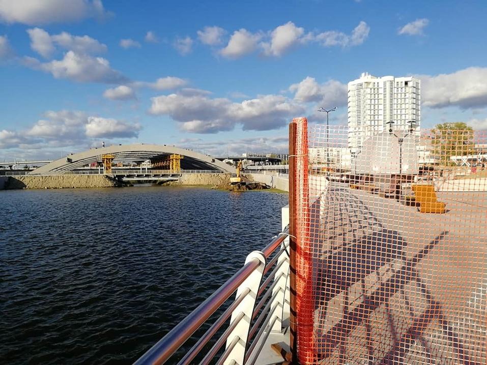 На выходных в Челябинске откроют сквер на новой набережной 1