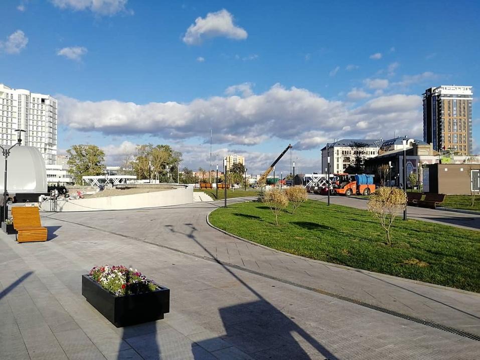 На выходных в Челябинске откроют сквер на новой набережной 2