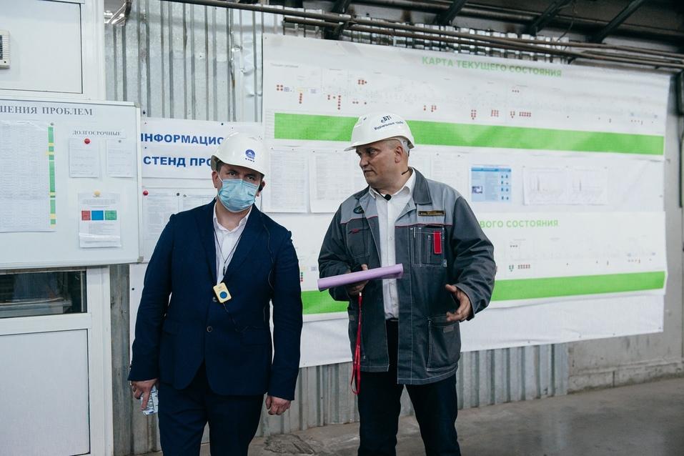 Уральский изготовитель бурильных труб увеличил выработку благодаря нацпроекту 4