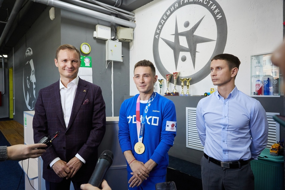 Владимир Городенкер, Давид Белявский и Владимир Вирский