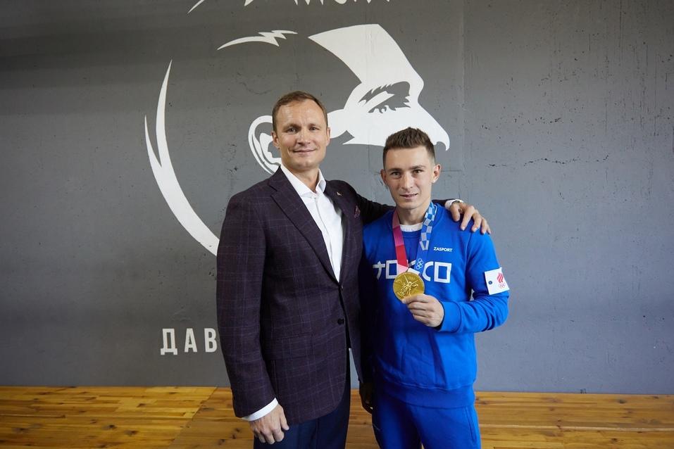 Фото с чемпионом