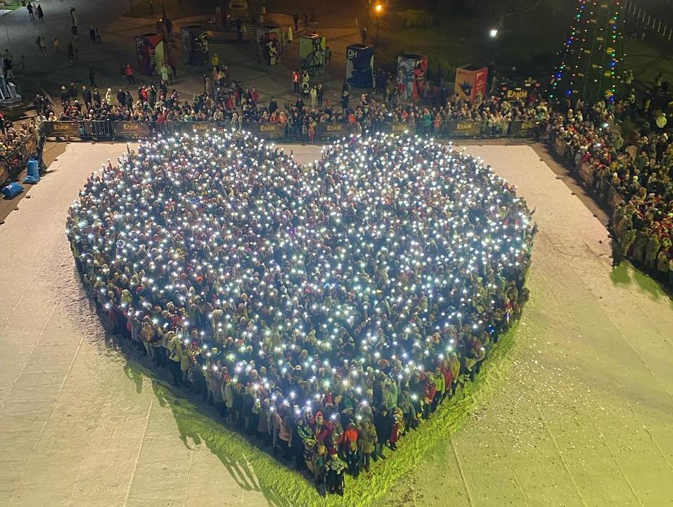 На съемки «Ёлок» пришли более 2 тысяч красноярцев 1