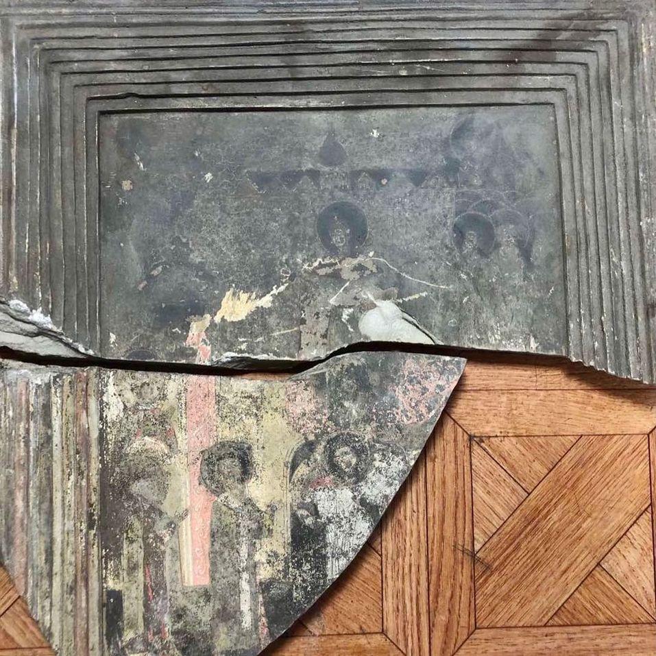 Находка, обнаруженная в ходе реставрации церкви